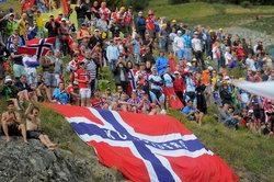 Норвежские болельщики. Photo (c) TDWSport