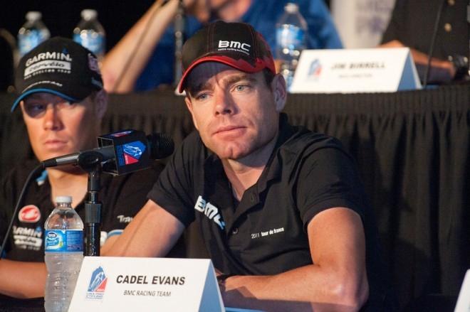 Кэдел Эванс. Photo (c) VeloNews