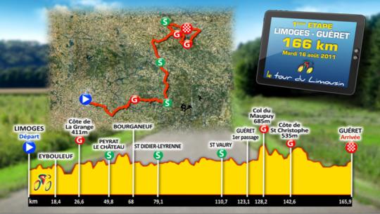 16-19 августа Тур дю Лимузен - 2011