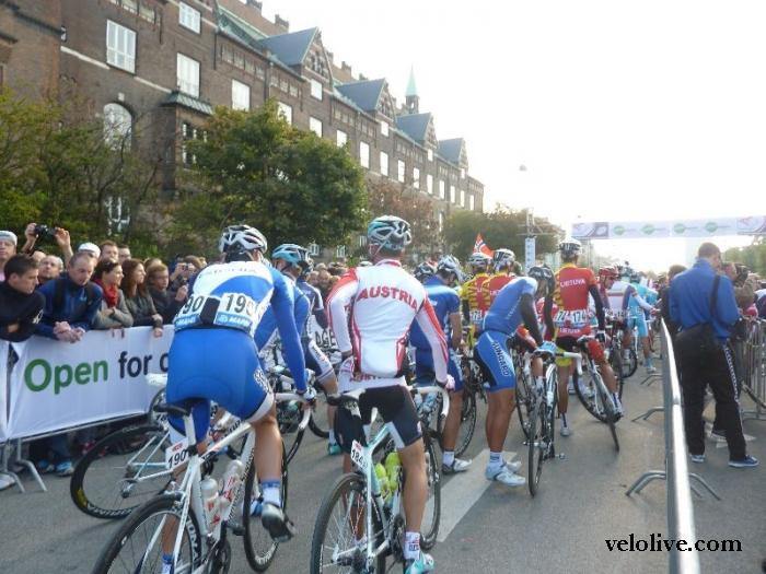Фоторепортаж из Копенгагена: групповая гонка, элита