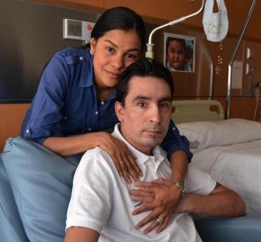 Маурисио Солер с женой Патрисией