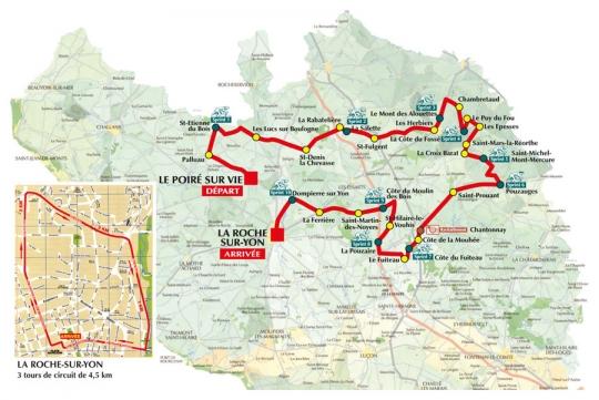 2 октября Тур де Вандея - 2011