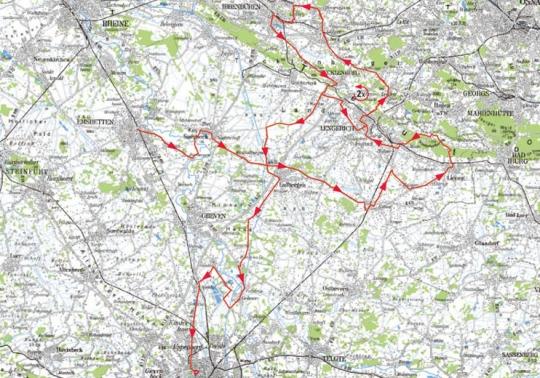 3 октября Sparkassen Münsterland Giro 2011