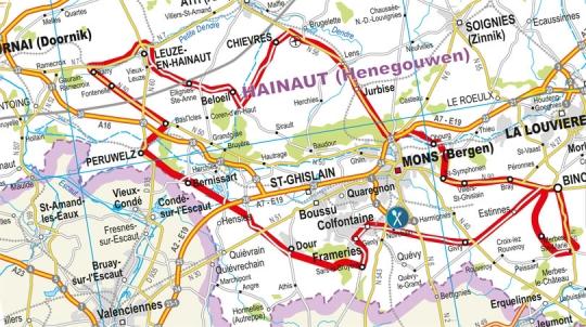 4 октября Binche-Tournai-Binche - Mémorial Frank Vandenbroucke 2011