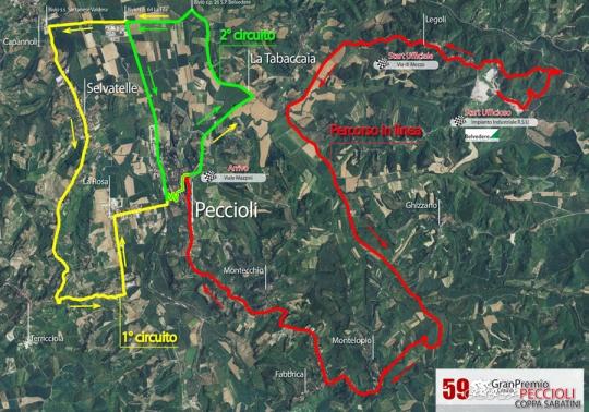 6 октября Coppa Sabatini - Gran Premio citta di Peccioli 2011