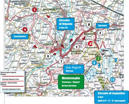 9 октября Gran Premio Bruno Beghelli - 2011