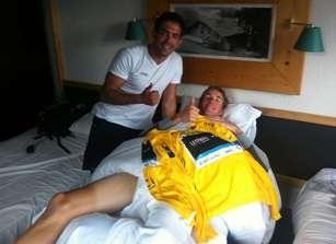Аран и Энди Шлек. Photo (c) Marca