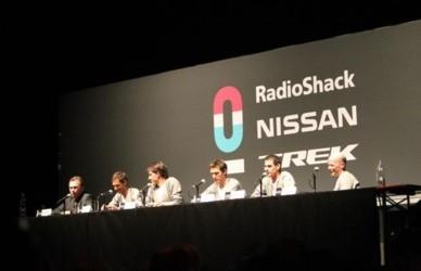 Пресс-конференция Team RadioShack - Nissan Trek
