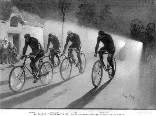 1901 год. Photo (c) BC Randonneurs Cycling Club