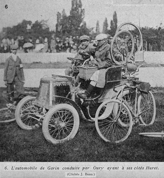 Ассистент Мориса Гарена. Photo (c) BC Randonneurs Cycling Club