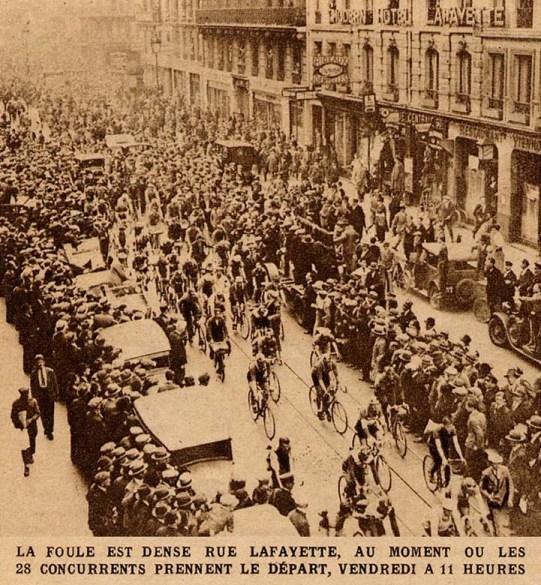 Старт Париж-Брест-Париж-1931. Photo (c) BC Randonneurs Cycling Club