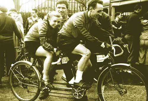 Смешанный тандем. Photo (c) BC Randonneurs Cycling Club