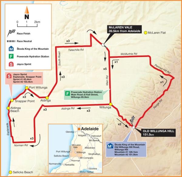 17-22 января. Сантос Тур Даун Андер-2012