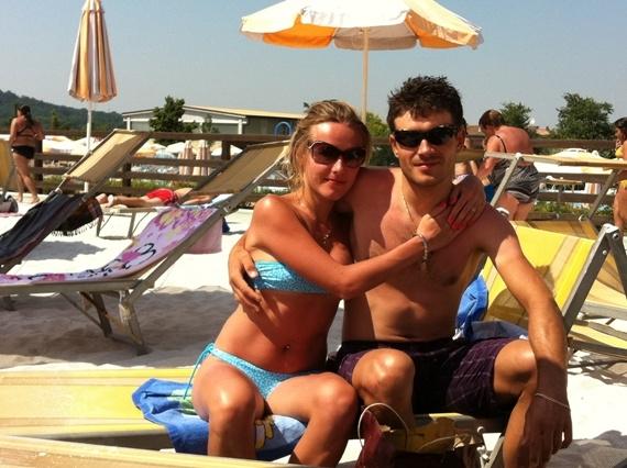 Виталий Буц с женой Анной