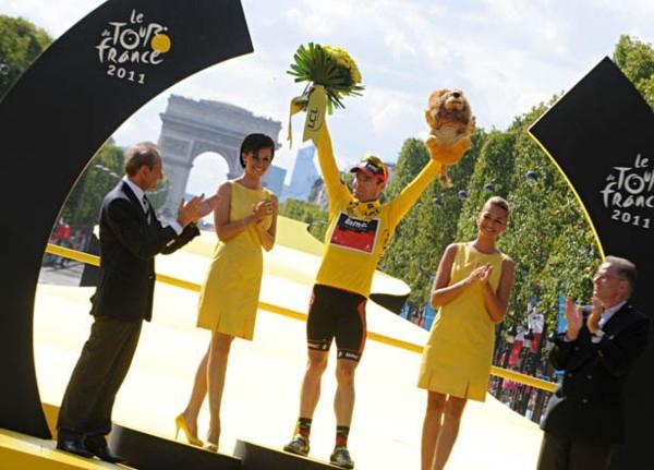 Кэдел Эванс. Тур де Франс - 2011