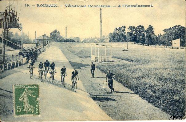 Первый велодром в Рубэ. Photo (c) Les Amis de Paris-Roubaix