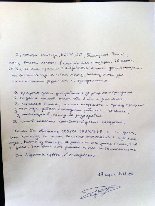 Денис Галимзянов признал свою вину
