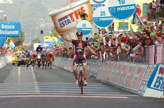Финал этапа Джиро-2006 в Сестри Леванте