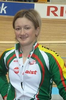 Ольга Панарина - белорусская профессиональная велогонщица, чемпионка мира 2011 года, заслуженный мастер спорта Республики Беларусь: