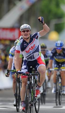 Андре Грайпель. 4 этап Тур де Франс -2012