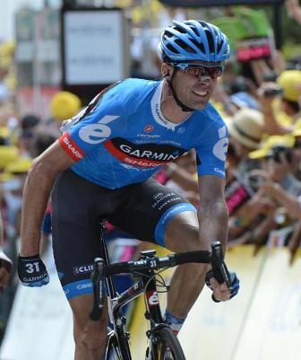 Дэвид Миллар, 12 этап Тур де Франс-2012