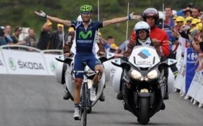 Алехандро Вальверде, 17-й этап Тур де Франс - 2012