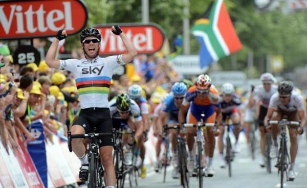 Марк Кэвендиш, 18-й этап Тур де Франс - 2012