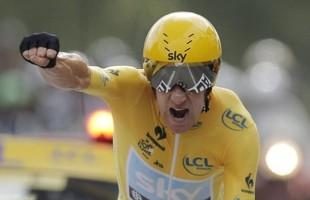 Брэдли Виггинс. Тур де Франс - 2012, 19-й этап