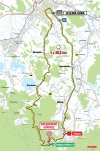 Tour de Pologne 2012. 1 этап