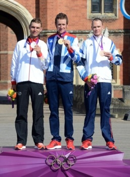 Олимпиада - 2012. Шоссе. Гонка с раздельным стартом
