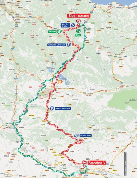 Вуэльта Испании-2012: Альтиметрия этапов