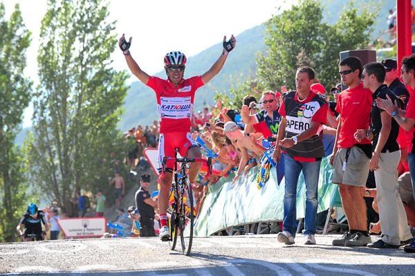 Vuelta a Espana 2012: Tarazona - Jaca 175,4 км © Roberto Bettini