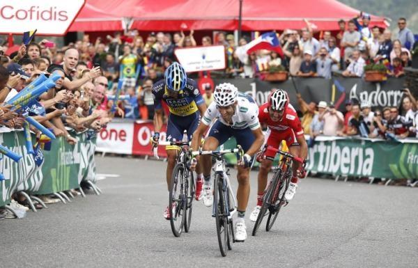 Vuelta a Espana 2012: Lleida - Andorra. Collada de la Gallina 174,7 км © AFP Photo