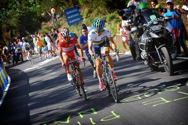 Vuelta a Espana 2012: Vilagarcia de Arousa - Mirador de Ezaro 190,5 км © Bettini
