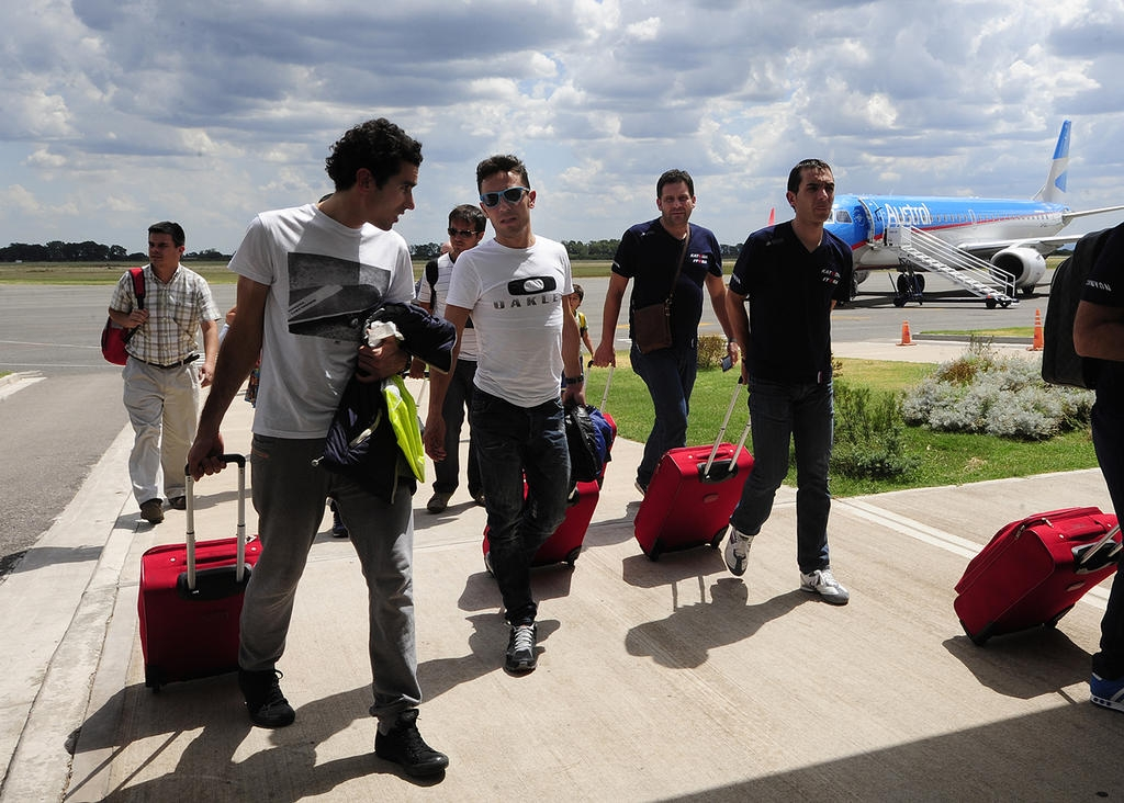 Пурито прибыл в Аргентину