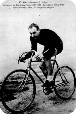 Сирил Ван Ховерт (Cyrille Van Hauwaert) победитель Сирил Ван Ховерт (Cyrille Van Hauwaert) 1908