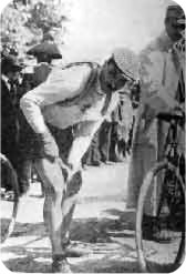 Луиджи Ганна (Luigi Ganna) победитель Милан - Сан-Ремо (Milano-Sanremo) 1909