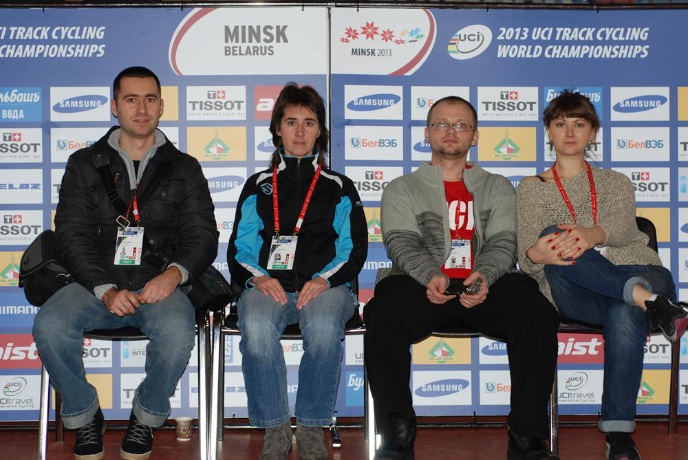 Команда представителей Велолайв ЧМ Минск-2013