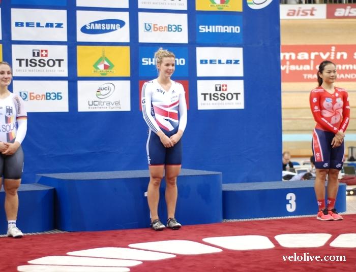 Чемпионат мира на треке-2013. 4-й день. Награждение (4 часть)