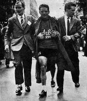 Страницы истории: Милан - Сан-Ремо - 1955 Жермен Дерикке (Germain Derijcke)