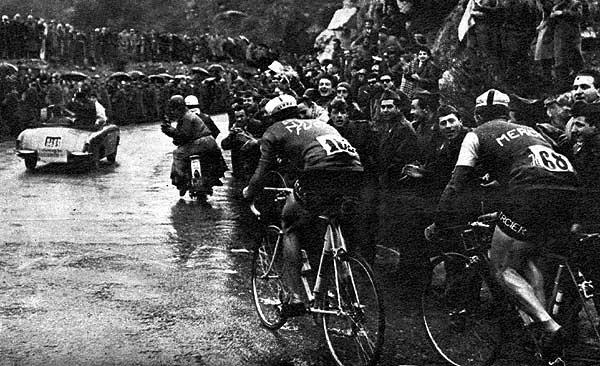 Страницы истории: Милан - Сан-Ремо - 1956 Альфред Де Брюн, Alfred De Bruyne