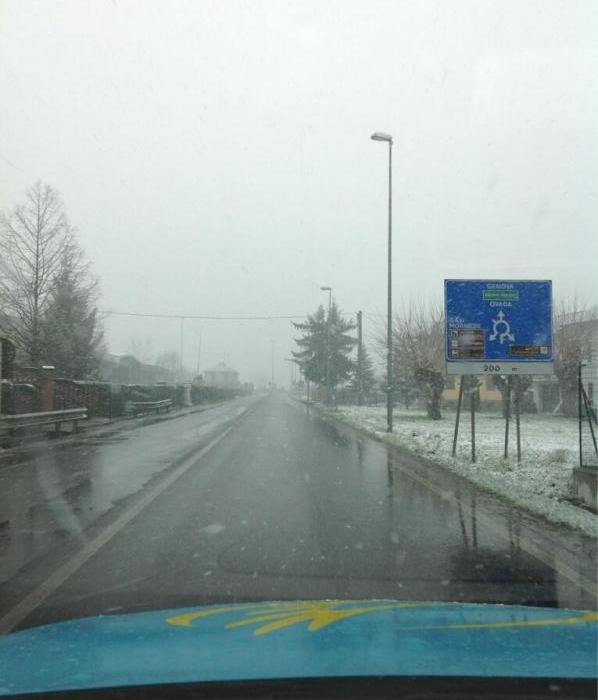 Велотвиттер. Спецвыпуск. Снег на Милан - Сан-Ремо