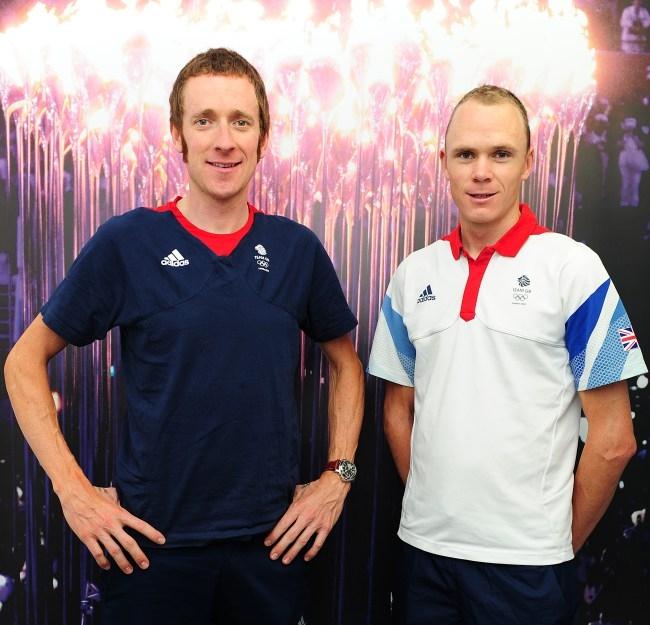 Брэдли Уиггинс и Крис Фрум, Picture: Daily Mail