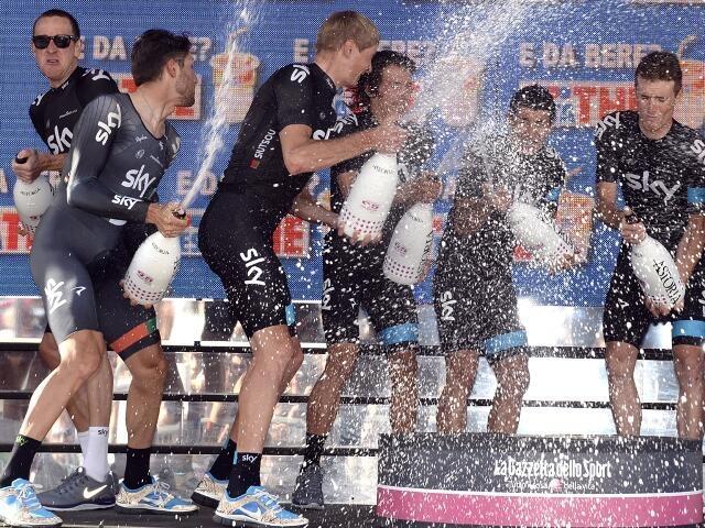 Sky, Giro-2013, 2 этап