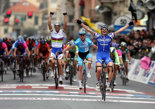 Филиппо Поццато, победа на Милан-Сан-Ремо-2006