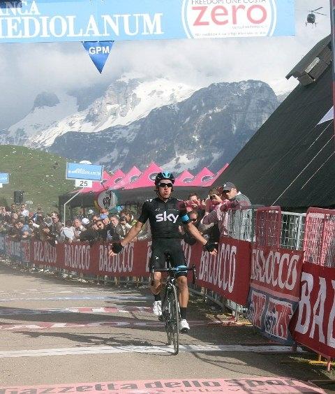 Ригоберто Уран, победа на 10-м этапе Джиро-2013