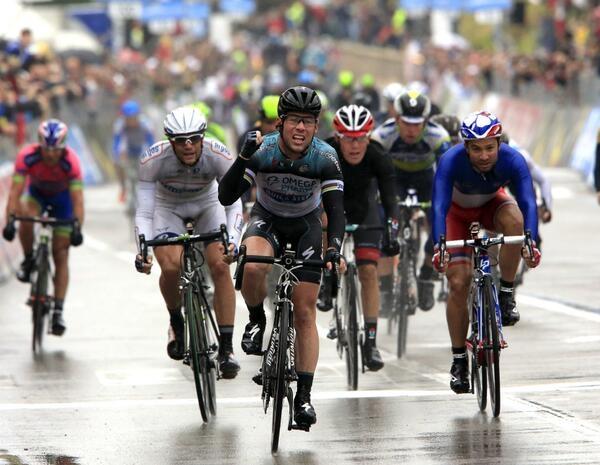 Марк Кэвендиш - победитель 12-го этапа Джиро-2013