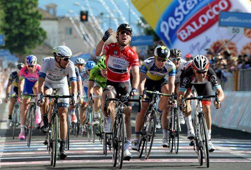 Марк Кэвендиш, победа на 13-м этапе Джиро-2013