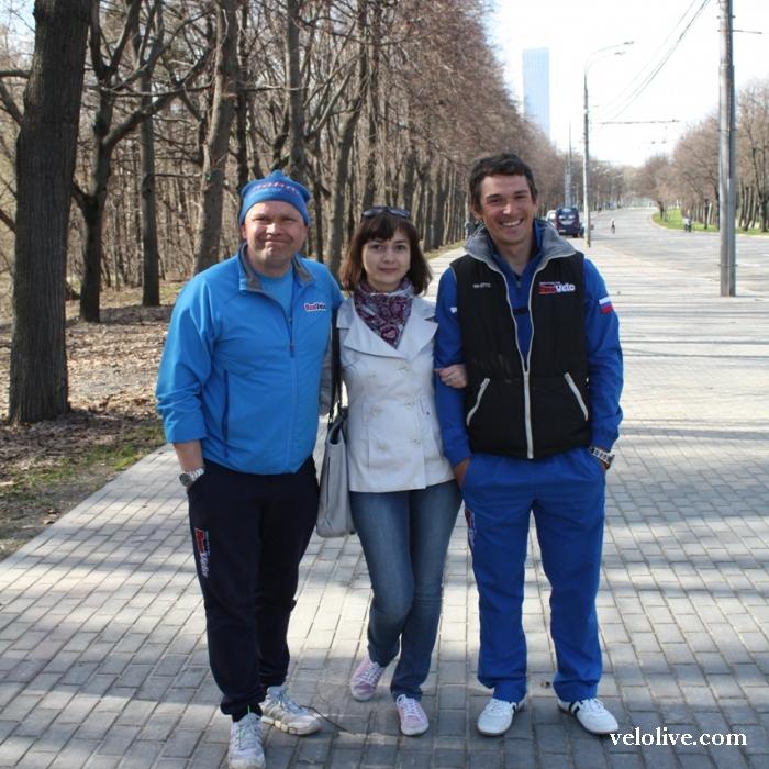 Москва. Велогонки. RusVelo