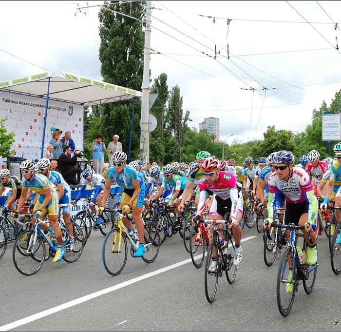 Украинцы взяли весь подиум на международной велогонке  Race Horizon Park 2013!